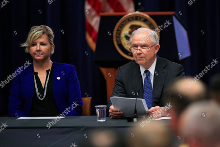 Editorial image of Sessions, Washington, USA - 29 Aug 2018
