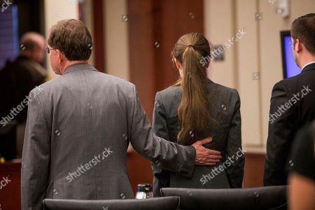 Editorial image of Girlfriend Charged, Newport, USA - 28 Aug 2018