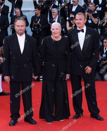 Franco Nero, Vanessa Redgrave and Carlo Nero