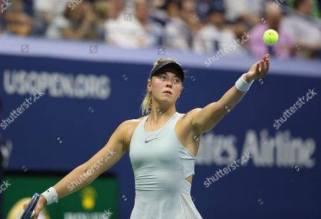 Editorial image of US Open Tennis Championships, Day 3, USTA National Tennis Center, Flushing Meadows, New York, USA - 29 Aug 2018