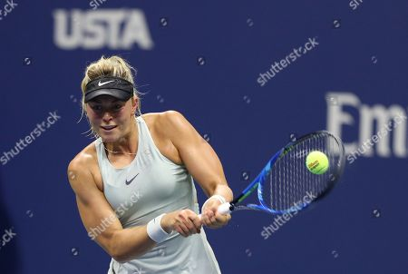 Carina Witthoeft during her second round match.