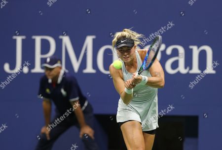 Stock Image of Carina Witthoeft during her second round match.