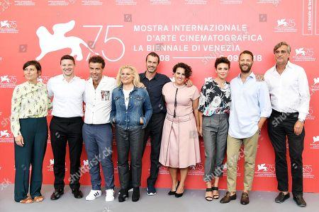 Editorial image of 'Sulla mia pelle' photocall, 75th Venice International Film Festival, Italy - 29 Aug 2018