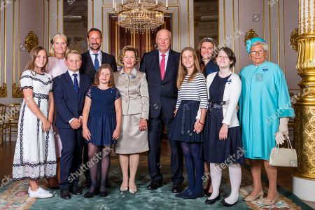 Editorial image of King Harald and Queen Sonja celebrate their golden wedding anniversary, Oslo, Norway - 29 Aug 2018