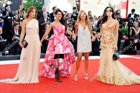 Francesca Carollo, Giusy Versace, Jo Squillo and Gessica Notar