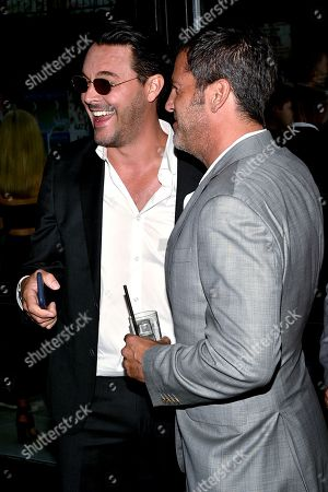 Stock Photo of Jack Huston and David M. Rosenthal