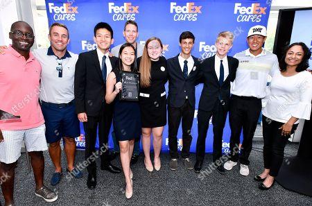 Editorial image of FedEx Junior Business Challenge, Norton, USA - 29 Aug 2018