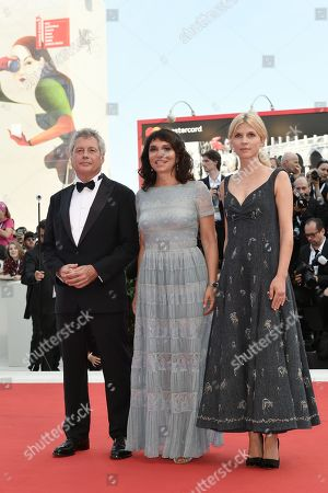 Stock Picture of Alessandro Baricco, Susanne Bier, Clemence Poesy