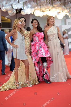 Jo Squillo, Jessica Notaro, Giusy Versace