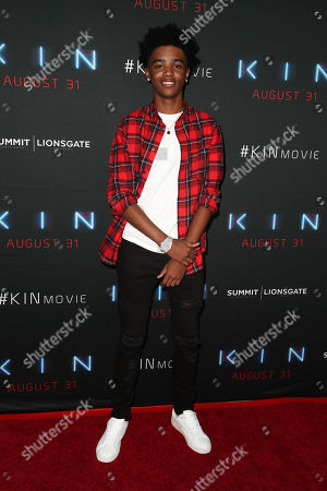 Editorial picture of 'Kin' film screening, Arrivals, Los Angeles, USA - 29 Aug 2018
