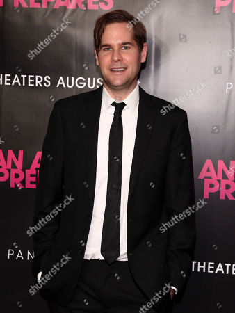 """Stock Image of Tom Butterfield attends the premiere """"An Actor Prepares"""" at Metrograph, in New York"""