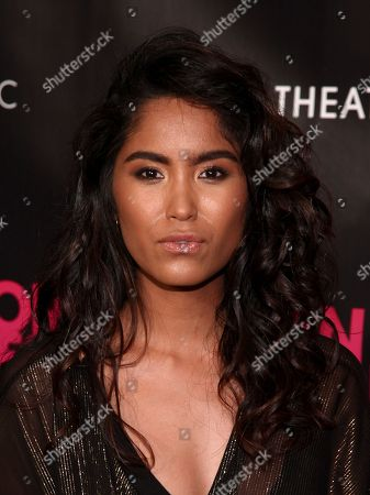"""Danielle Lyn attends the premiere """"An Actor Prepares"""" at Metrograph, in New York"""
