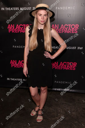 "Gigi Burris attends the premiere ""An Actor Prepares"" at Metrograph, in New York"
