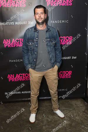 """Editorial image of NY Premiere of """"An Actor Prepares"""", New York, USA - 29 Aug 2018"""