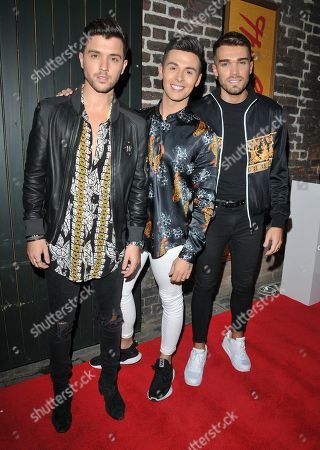 Union J - JJ Hamblett, Jaymi Hensley and Josh Cuthbert