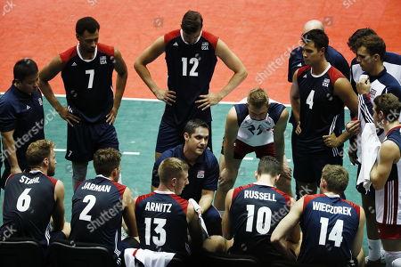 Editorial photo of USA vs Puerto Rico, Cordoba, Mexico - 29 Aug 2018