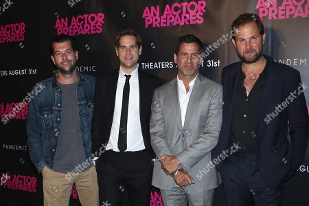 Tom Butterfield, Thomas Moffett, David M. Rosenthal and Steve Clark, director