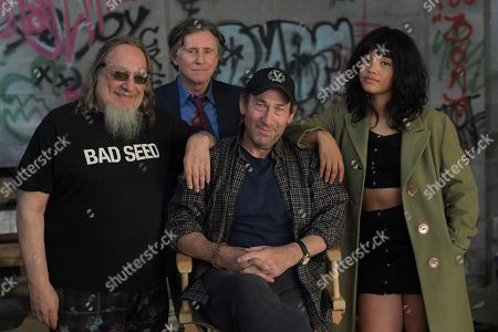 Larry Sloman Co Writer, Gabriel Byrne as Ted Gold, Daniel Adams Director, Kiersey Clemons as Velocity