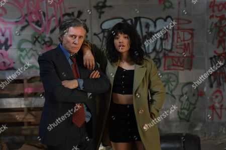 Gabriel Byrne as Ted Gold, Kiersey Clemons as Velocity