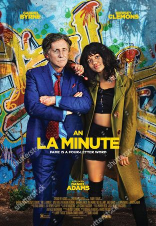 An L.A. Minute (2018) Poster Art Gabriel Byrne as Ted Gold, Kiersey Clemons as Velocity