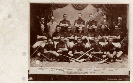 Beaconsfield Hurling Team Kimberley Cape Colony Griqualand West South Africa. They Were Gold Medal Winners. . Unattributed Postcard