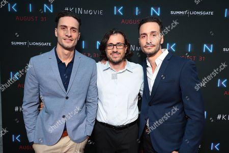 Director Jonathan Baker, Producer Dan Cohen and Director Josh Baker