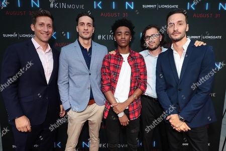 Producer Jeff Arkuss, Director Jonathan Baker, Myles Truitt, Producer Dan Cohen and Director Josh Baker
