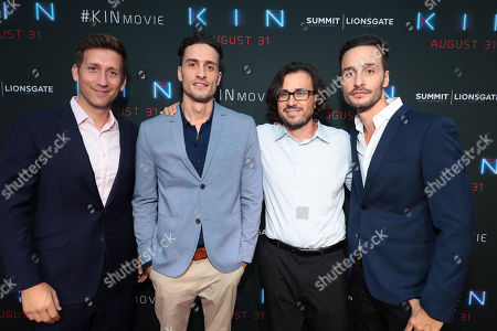 Producer Jeff Arkuss, Director Jonathan Baker, Producer Dan Cohen and Director Josh Baker