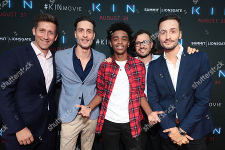 Producer Jeff Arkuss, Director Jonathan Baker, Myles Truitt, Producer Dan Cohen and Director Josh Baker