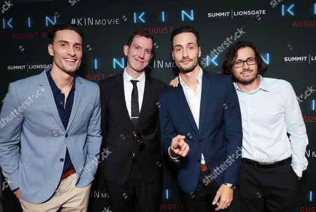 Director Jonathan Baker, Writer Dan Casey, Director Josh Baker and Producer Dan Cohen