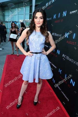 Editorial image of Summit Entertainment, A Lionsgate Company, KIN Los Angeles special screening, Los Angeles, USA - 29 August 2018