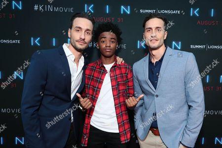 Director Josh Baker, Myles Truitt and Director Jonathan Baker