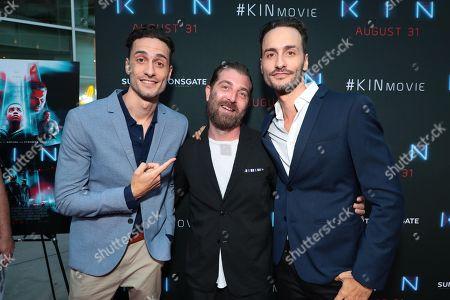 Director Jonathan Baker, Sound Designer Joseph Fraioli and Director Josh Baker