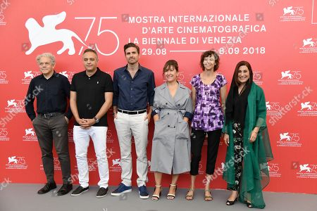 Editorial picture of Orizzonti jury photocall, 75th Venice International Film Festival, Italy - 29 Aug 2018