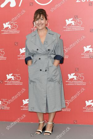Editorial photo of Orizzonti jury photocall, 75th Venice International Film Festival, Italy - 29 Aug 2018