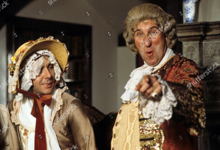 'Dick Turpin' - 'The Godmother' - Richard O'Sullivan as Dick Turpin and Christopher Benjamin as Sir John Glutton.