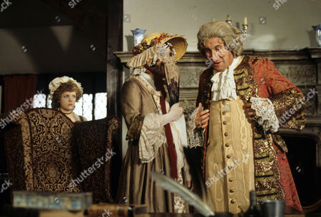 'Dick Turpin' - 'The Godmother' - Wendy Morgan as Tabitha, Richard O'Sullivan as Dick Turpin and Christopher Benjamin as Sir John Glutton.