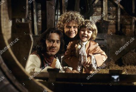 'Dick Turpin' - 'Sentence of Death' - Richard O'Sullivan as Dick Turpin, Michael Deeks as Swiftnick and Aaron Burchall as the boy.