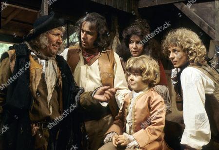 'Dick Turpin' - 'Sentence of Death' - Alfie Bass as Isaac Rag, Richard O'Sullivan as Dick Turpin, Annabelle Lee as Poll Maggot, Aaron Burchall as the boy and Michael Deeks as Swiftnick.