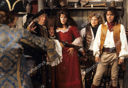 'Dick Turpin' - 'Sentence of Death' - Alfie Bass as Isaac Rag, Annabelle Lee as Poll Maggot, Michael Deeks as Swiftnick and Richard O'Sullivan as Dick Turpin.