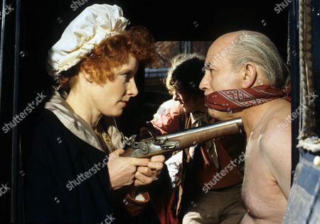 'Dick Turpin' - 'The Judge' - Jo Rowbottom as Mary and John Barrard as Judge Lambsfoot.