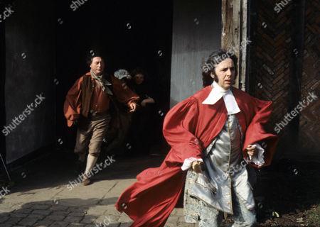 'Dick Turpin' - 'The Judge' - Ray Mort as John Radstock and Richard O'Sullivan as Dick Turpin.