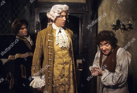 'Dick Turpin' - 'The Thief Taker' - James Villiers as Lord Fordingham and Keith James as Davy.
