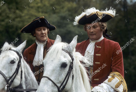 'Dick Turpin' - 'The Fox' - Garfield Morgan as Warren and Donald Pickering as Lord Manderfell.