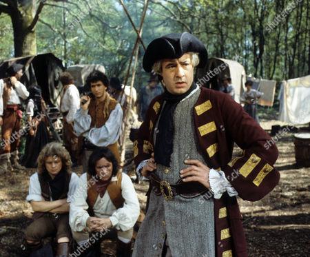 'Dick Turpin' -  'The Secret Folk' - Michael Deeks as Swiftnick, Richard O'Sullivan as Dick Turpin and David Daker as Captain Nathan Spiker