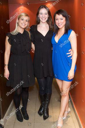 Jessica Ashmore-Short, Claire Cooper and Maria Lawson