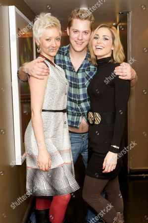 Gretchen Lodge, Iain Stroughhair and Aoife Mulholland