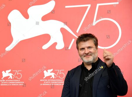 Argentinian director Gaston Duprat poses during a photocall for 'Mi Obra Maestra' at the 75th annual Venice International Film Festival, in Venice, Italy, 30 August 2018. The movie is presented out of competition at the festival running from 29 August to 08 September.