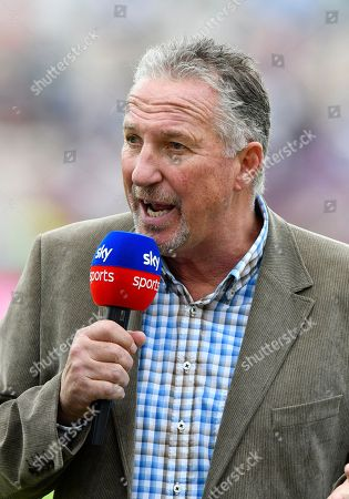 Sky Sports pundit Sir Ian Botham OBE during the first day of the 4th SpecSavers International Test Match 2018 match between England and India at the Ageas Bowl, Southampton