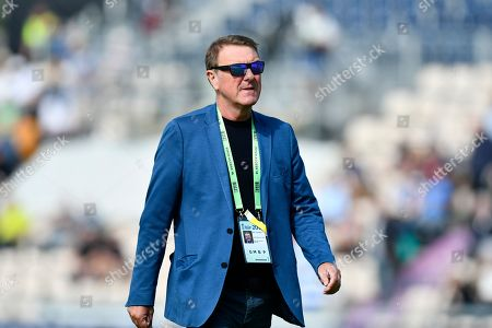 BBC Test Match Special commentator Phil Tufnell during the first day of the 4th SpecSavers International Test Match 2018 match between England and India at the Ageas Bowl, Southampton